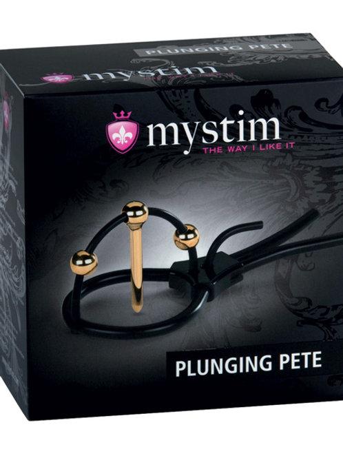Mystim Plunging Pete w/Corona Strap & Urethral Sound
