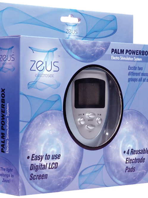 Zeus Electrosex Palm Power Box