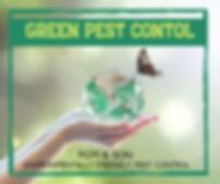 Green Pest Control Environmentally Frien