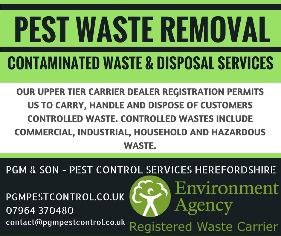 Our Upper Tier Carrier Dealer registration permits us to carry, handle and dispose of customers controlled waste. Controlled wastes include commercial, industrial, household and hazardous waste.
