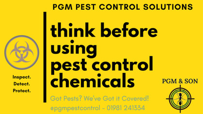 PGM Pest Control Solutions - your local