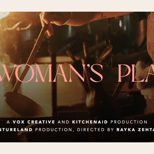 """A Woman's Place"" Banner"
