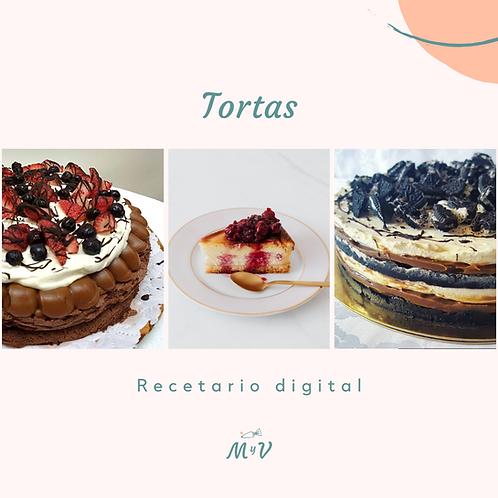 Recetario Tortas