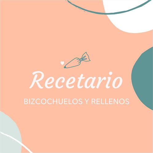 Recetario Bizcochuelos y Rellenos