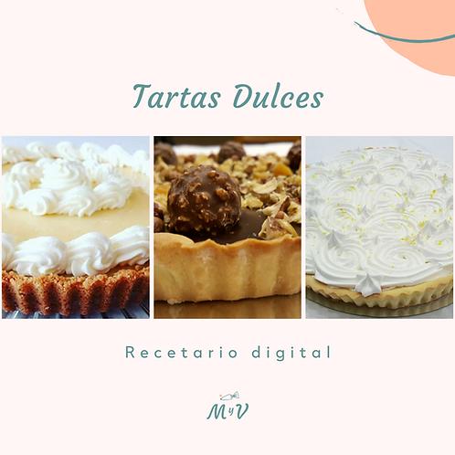 Recetario Tartas Dulces