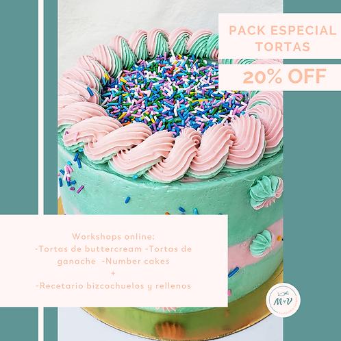 Pack Especial Tortas