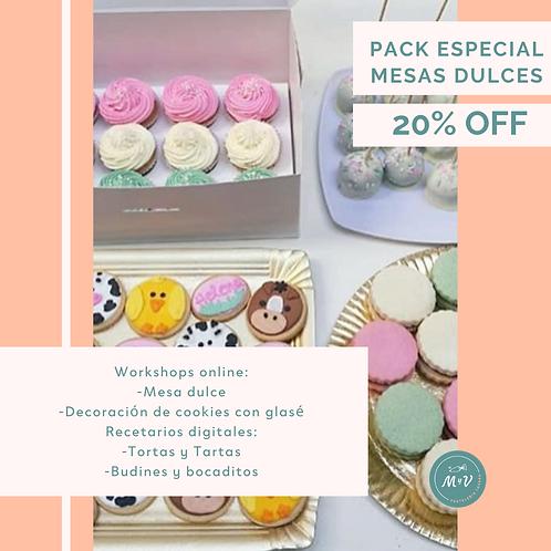 Pack Especial Mesas Dulces