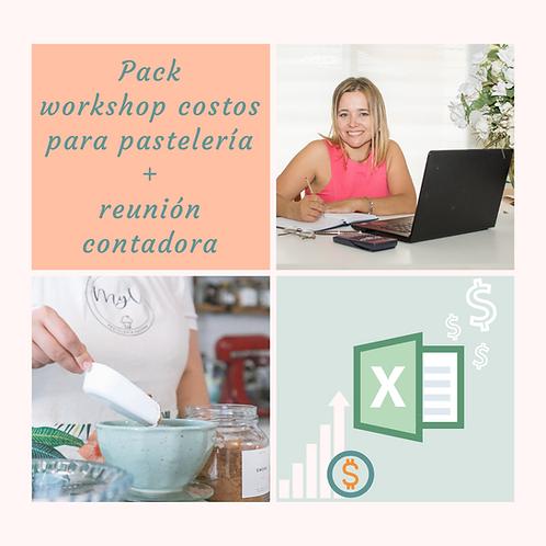 PACK Workshop Costos + Reunión Contadora