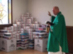 Prayer over Boxes.JPG