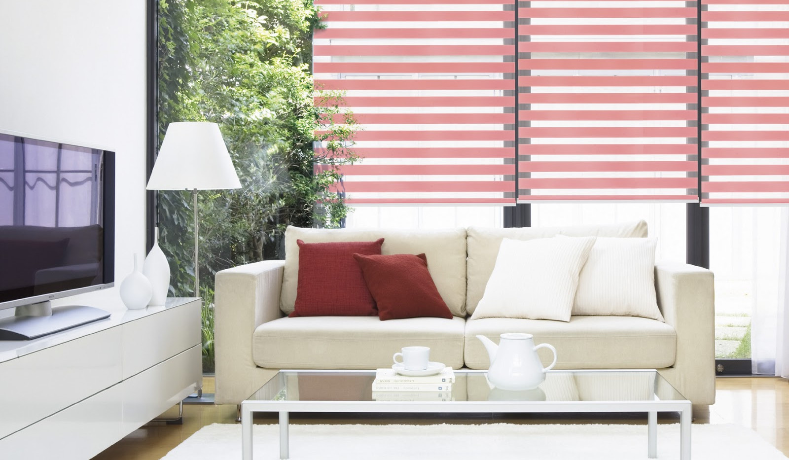 Basic Combi Blinds (Pink)