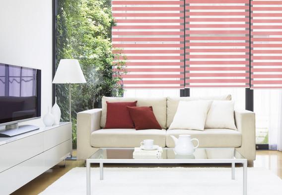 Basic Combi Blinds (Pink)