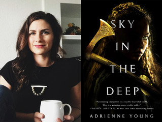 Interview: Adrienne Young, Author of 'Sky in the Deep'