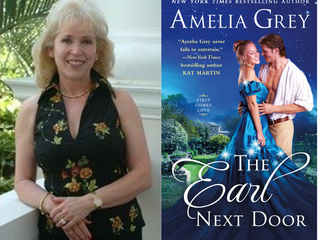 Interview: Amelia Grey, Author of 'The Earl Next Door'