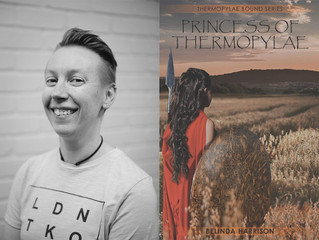 Interview: Belinda Harrison, Author of 'Princess of Thermopylae'