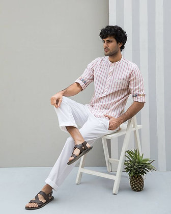 Pondicherry Shirt - Red