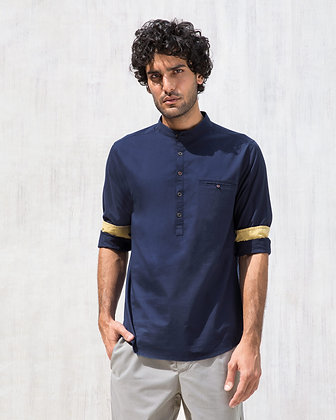 Pondicherry Shirt - Blue
