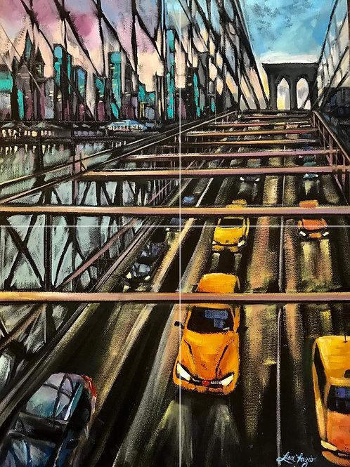 Brooklyn Bridge 11x17in Print