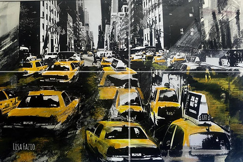 NYC Cha Cha Line 11x17in Print
