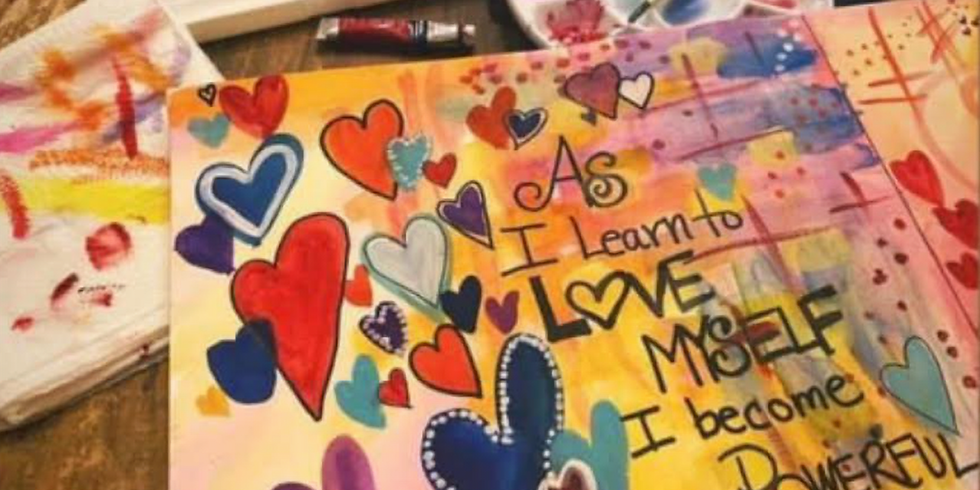 Fall In Love With Yourself 6 Week Art Journaling Workshop