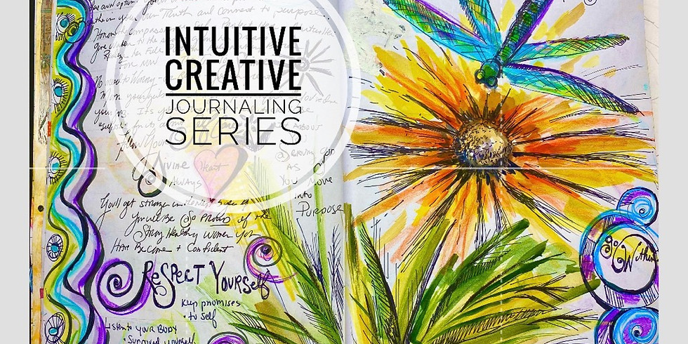 Dive Into Intuitive Guidance 8 Week Summer Intuitive Creative Journaling