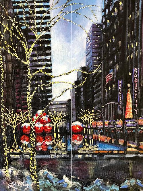Radio City 11x17in Print