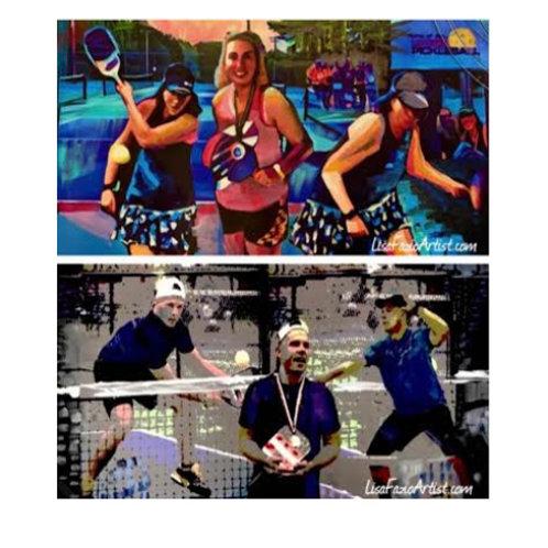 Multi Media Sports Art