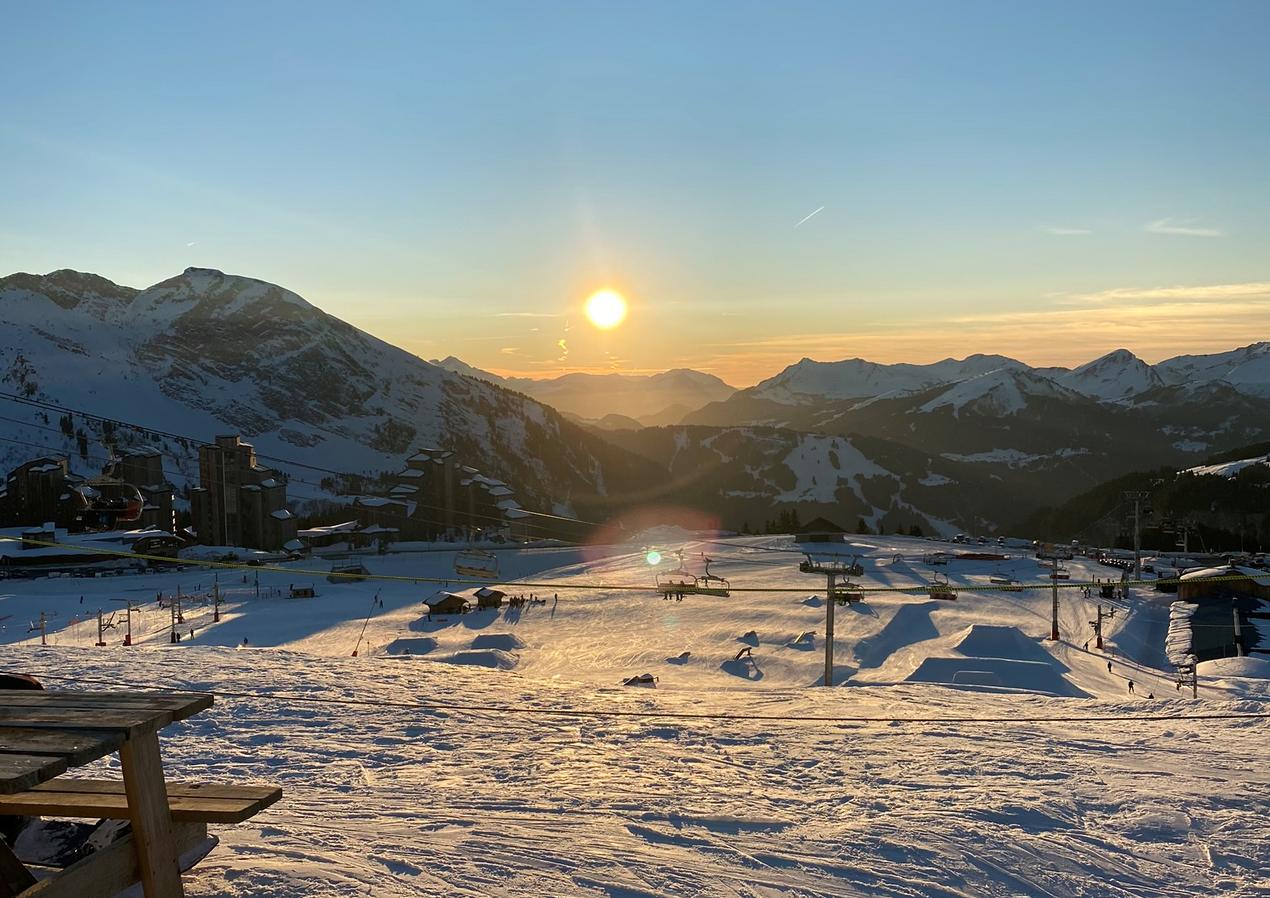 Ski Season   Avoriaz, France - JAN 2020