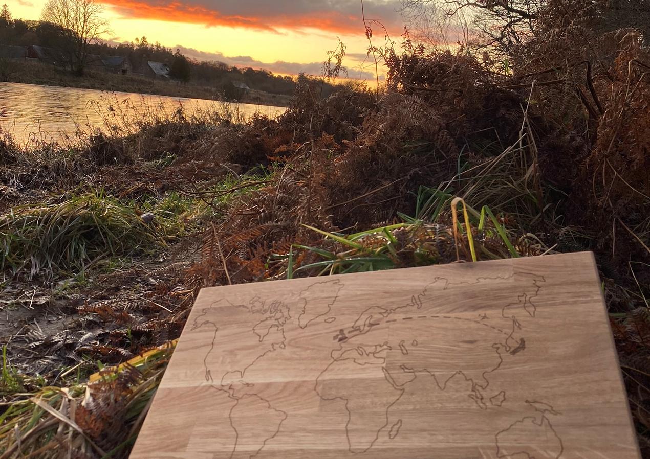 Woodwork   Aberdeen, Scotland - NOV 2019