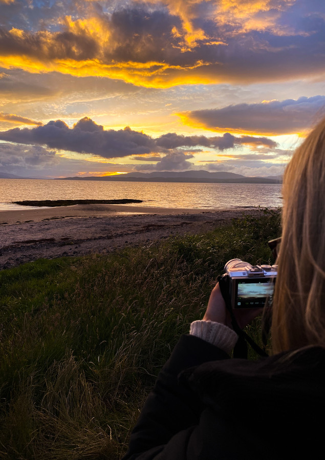 Scottish Landscape   Oban, Scotlan - AUG 2020
