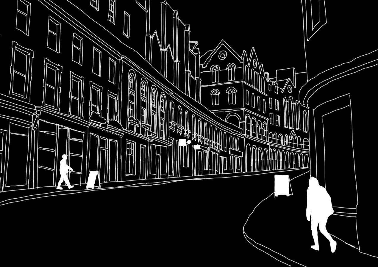 Digital Sketch   Edinburgh, Scotland - SEP 2020