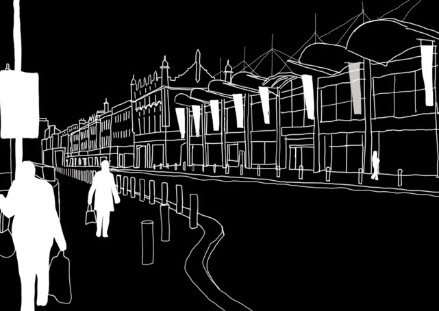 Digital Sketch | Aberdeen, Scotland - SEP 2020