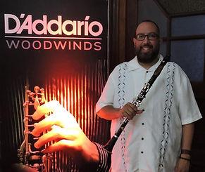 John De La Paz, D'Addario Woodwinds, clarinet
