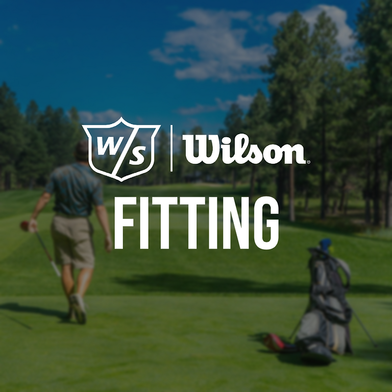 Wilson Staff Fitting