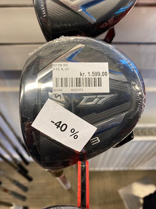 Wilson D7 3 kølle helium skaft