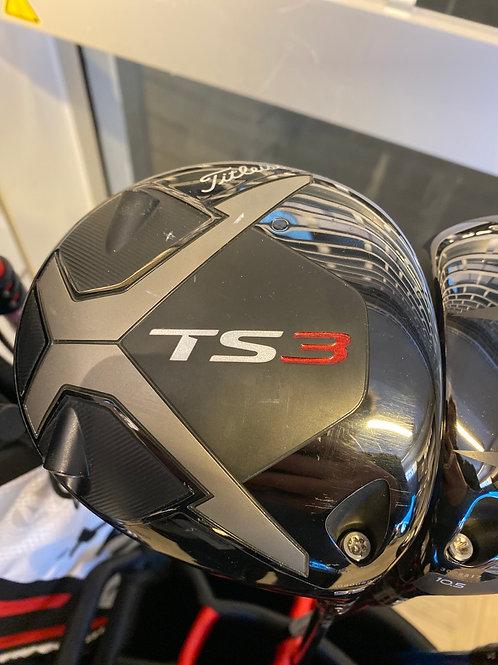 Titleist TS3 driver 9,5 tensei x stiff