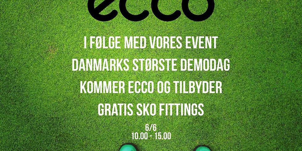 Ecco Sko Fitting - DK's Største Demodag