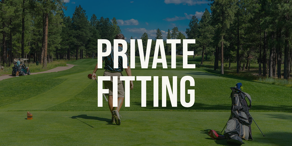 Private Fitting