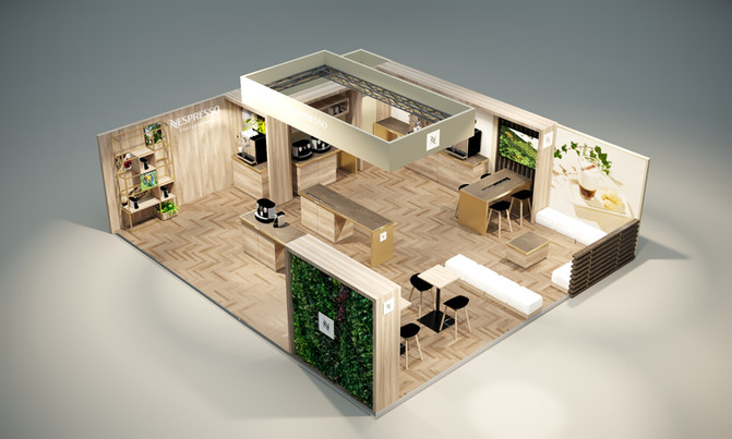New concept for the Nespresso Belgium at Horeca Expo
