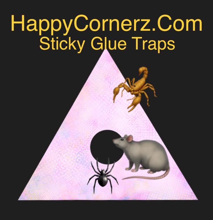 sticky glue traps for cockroaches Happy Cornerz DIY pest control solution