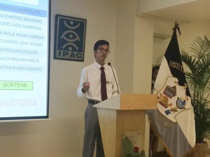 Participación en Concurso de Oratoria