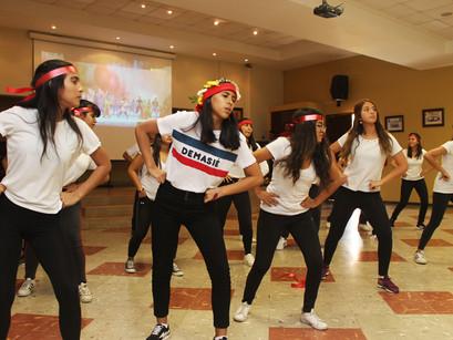 Presentación de baile - Extracurricular de Mandarín