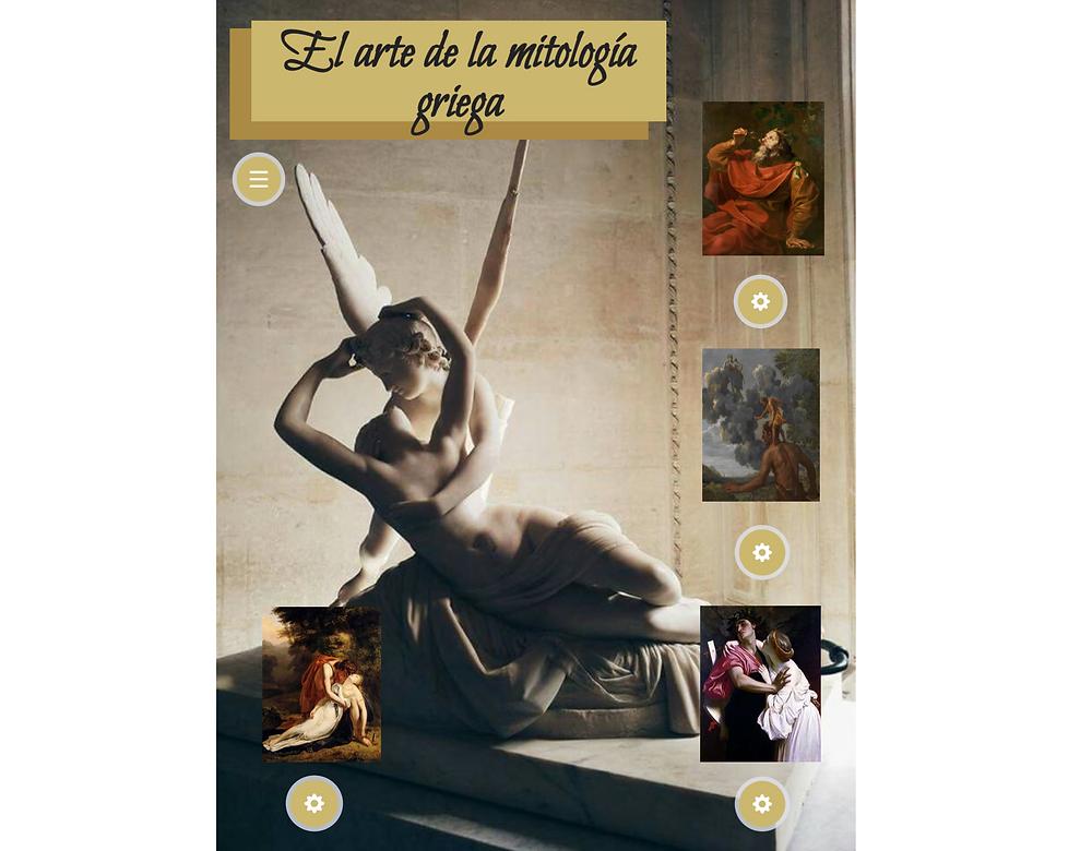 """Javiera Coronel: """"El arte de la Mitología Griega"""""""