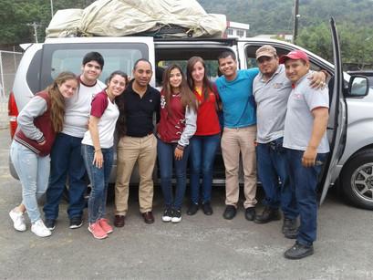 Renata Iturralde y su experiencia en la construcción de casas en Manabí.
