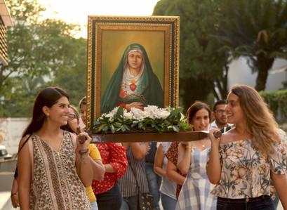 """""""María, testigo fiel de la Resurrección"""" Celebraciones de Pascua."""