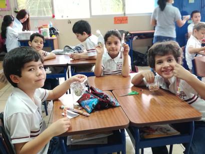 San Valentín visitó al Javier