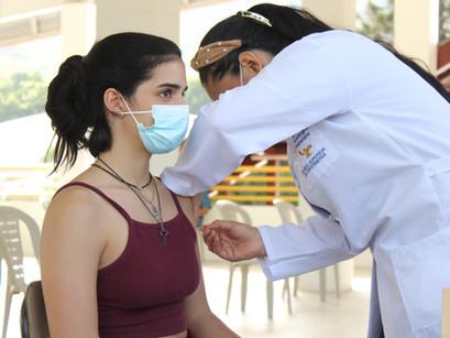 ¡Caminamos con esperanza! - Vacunación a estudiantes