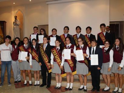 Posesión del Consejo Estudiantil 2017-18