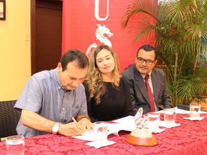 Nuevo convenio con la Universidad San Francisco de Quito
