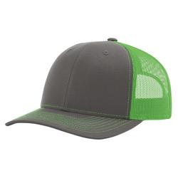 Charcoal/Neon Green