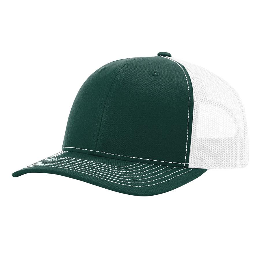 Dark Green/White
